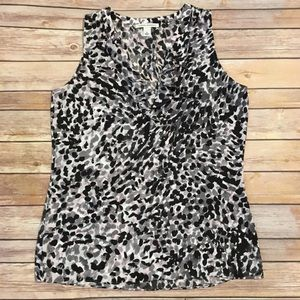 Banana Republic Animal Print Top, Size S